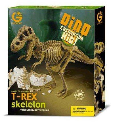 恐竜骨格標本発掘キット ティラノサウルス T-REX