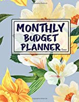 Monthly Budget Planner Flower: Weekly Expense Tracker Bill Organizer Notebook Business Money Personal Finance Journal Planning Workbook size 8.5x11 Inches (Watercolor Flowers Cover - Expense Tracker Budget Planner)