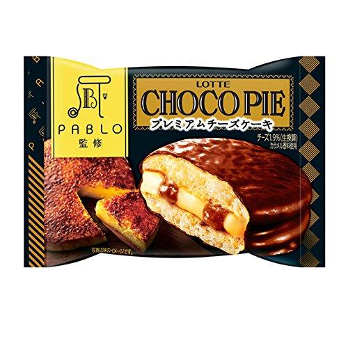ロッテ チョコパイ<PABLO監修プレミアムチーズケーキ>個売り 6個セット