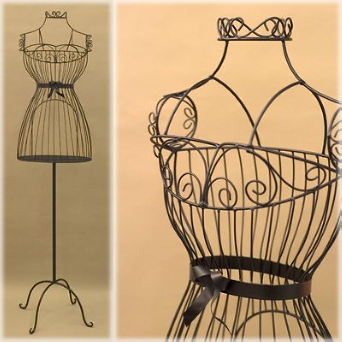 消す一杯花瓶マネキン ボディ トルソー 姫家具 :interior-ak-SA881874 (ブラック)