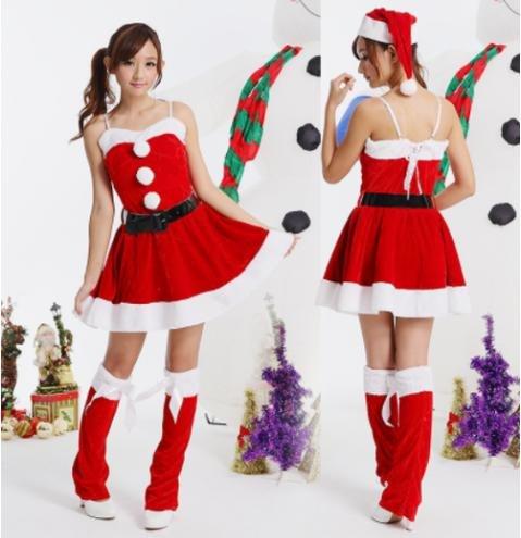 コスプレ サンタクロース 衣装 仮装 クリスマス 3点セット 豪華 レディース ワンピース