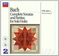 Bach: Complete Sonatas and Partitas for Solo Violin (1994-02-15)