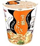 エースコック 「冷え知らず」さんの生姜とん汁うどん 64g×12個