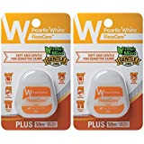 Pearlie White FlossCare Plus PTFE Mint Floss, Pack of 2