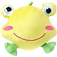 kansea直径7.09 inchコットンStuffed Baby Rattles動物ぬいぐるみおもちゃHandingモバイル幼児Kids Dolls ( Frog )。。。