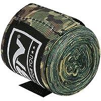 ハンドラップボクシンググローブ、トレーニングボクシングInnerグローブHand Wraps MMA Fistプロテクター包帯Mitts