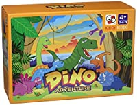 Dino Adventure table top board game trains social skills concentration and focus [並行輸入品]