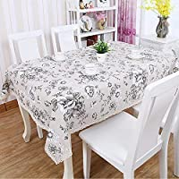 テーブルクロス、ダイニングテーブルテーブルクロスダイニングテーブル長方形テーブルテーブルクロスレストランコーヒーショップテーブルクロス (色 : E, サイズ : 110 * 110cm)
