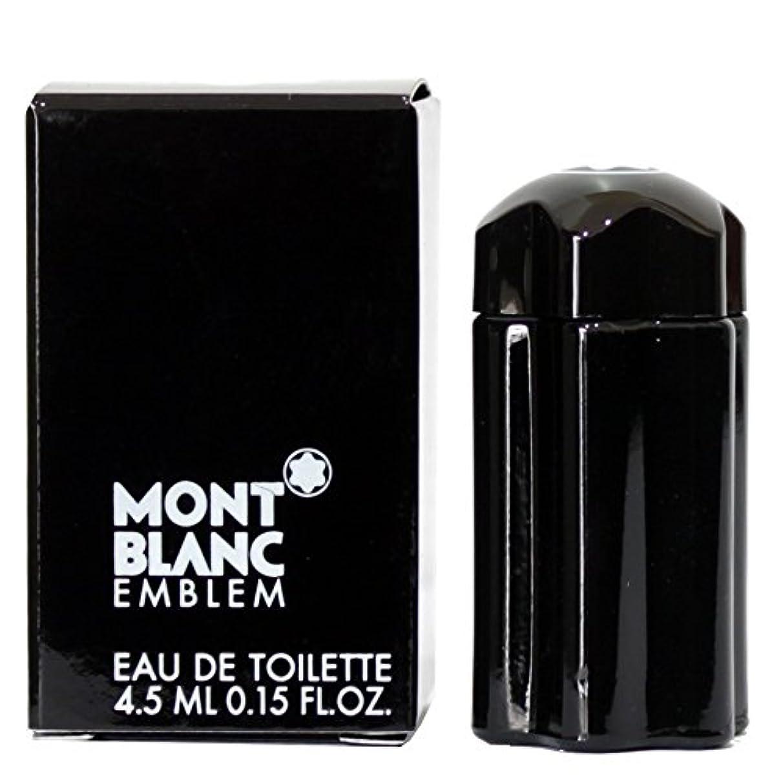 作り支店動脈モンブラン エンブレム EDT 4.5ml ミニ香水(並行輸入品)