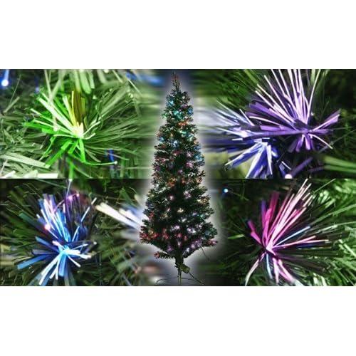 Xmas LEDファイバークリスマスツリー 高さ210cm グリーン