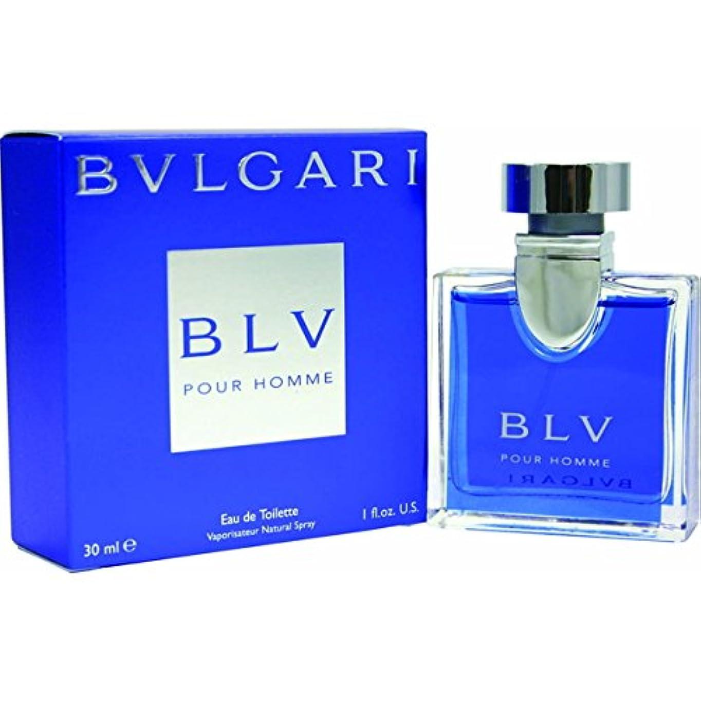 空気笑混乱した【お取り寄せ】 BVLGARI 香水 ブルーオム EDT 30ml [並行輸入品]