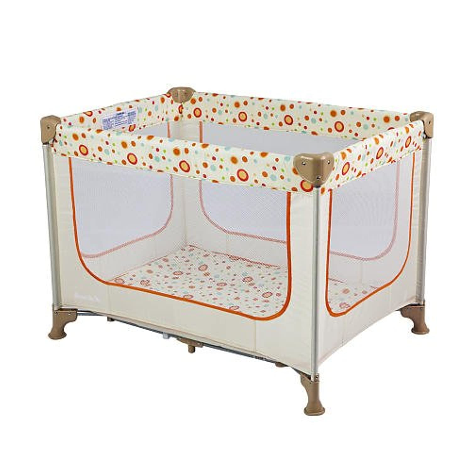 Dream On Me Zodiak Portable Play Yard Beige by Dream On Me