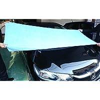 超大型 マイクロファイバータオル 車の拭きあげに最適、 (200cm x75cm)