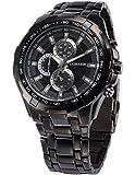 [エーエムピーエム24]AMPM24 ファッション メンズ ステンレススチール バンド クォーツ 腕時計 CUR007 AMPM24専用ギフトボックス付き