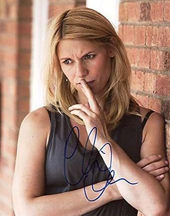 ★直筆サイン◆ホームランド [TV]◆HOMELAND (2011-) ★クレア デインズ as キャリー ★Claire Danes as Carrie Mathison