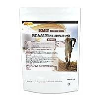BCAA 121 国内製造 500g L-ロイシン、L-バリン、L-イソロイシン BCAA [01] NICHIGA(ニチガ)