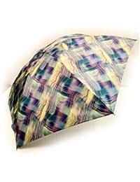NOBEL[ノーベル] 折りたたみ雨傘 レディース 雨傘 折畳傘 婦人 日本製 国産品 極薄生地 グリーン