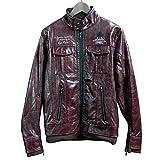 ACE CAFÉ LONDON ジャケット SC PU Leather JK Bordeaux M
