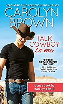 Talk Cowboy to Me (Lucky Cowboys) by [Brown, Carolyn]