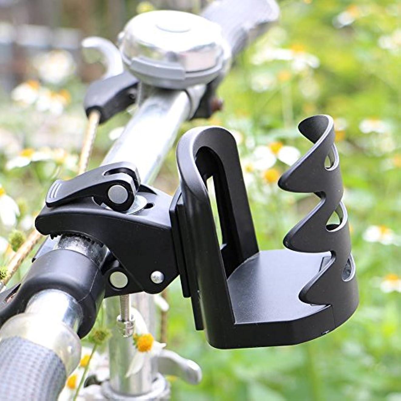 議会マイコンモザイクcarole4バイクボトルホルダー、軽量クイックリリース自転車水ボトルラック飲料ホルダーfor道路やマウンテンバイク、ブラック