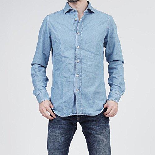 (ボルゾネッラ) BOLZONELLA セミワイドカラーシャツ/デニムシャツ/S3NORTON [並行輸入品]