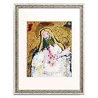 ワシリー・カンディンスキー Wassily Kandinsky Vassily Kandinsky 「Studie zu einem Abendmahl. 1910.」 額装アート作品