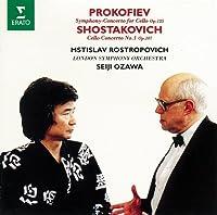 ショスタコーヴィチ:チェロ協奏曲第1番/プロコフィエフ:交響的協奏曲