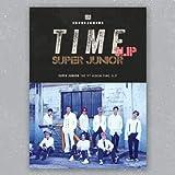 スーパージュニア - Time Slip [GROUP ver.] (Vol.9) CD+フォトブック+Folded Poster+KPOP MARKET特典両面フォトカードセット[韓国盤]