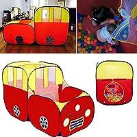 Greensun TM Kids Play Tent House Play Red Sports Car Hut子供海洋ボールピットプールPop Hut Play Pool Play Tent Kids年ギフト