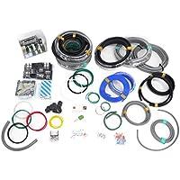 第一種電気工事士技能試験セット モズシリーズ 電線器具2の1(にのいち) 電線2回分と器具一式