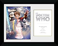 Doctor Who Framedコレクターポスター–6th Doctor Colin Baker (16x 12inches)