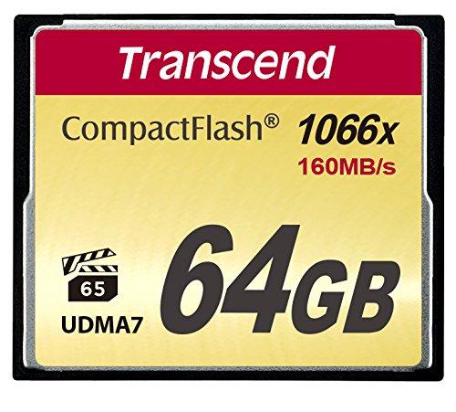 Transcend 1000倍速CFカード 64GB TS64GCF1000