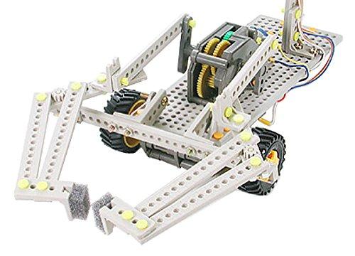 楽しい工作シリーズ No.162 リモコンロボット製作セット タイヤタイプ (70162)