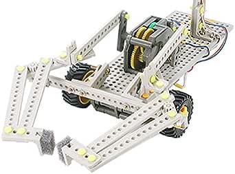 タミヤ 楽しい工作シリーズ No.162 リモコンロボット製作セット タイヤタイプ (70162)