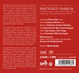 J.S.バッハ : マタイ受難曲 (Bach : Matthaus-Passion) [2SACD Hybrid + DVD (NTSC)] [輸入盤] 画像