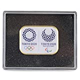 (ミキズ)mikiz 非売品 東京 2020 ケース オリンピック パラリンピック エンブレム ピンバッジ