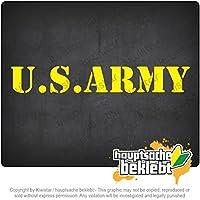 米軍 U.S. Army 20cm x 3cm 15色 - ネオン+クロム! ステッカービニールオートバイ