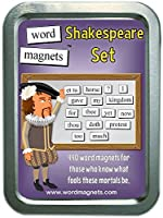 Word Magnets Shakespeare Set - Magnetic Words - Fridge Poetry Kit by Word Magnets