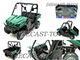 NEW RAY-43253 2008 YAMAHA RHINO 700 FI 4X4 ATV 1/12 GREEN [並行輸入品]