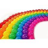 Mazhashop カラーボール 7色 カラーボール 子供用ボール100個入り 7色 直径5.5cm PE製 (プール/ボールプール/ボールハウス用) [並行輸入品]