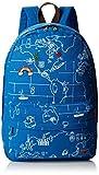おもちゃ J. Carrot World Map Print Canvas Backpack School Bookbag Book Bag Blue One Size [並行輸入品]
