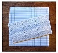 10小切手帳トランザクションRegistersカレンダー201620172018チェックBook登録新しい