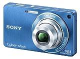SONY Cyber-shot Wシリーズ サイバーショット Wシリーズ DSC-W350(ブルー)の画像