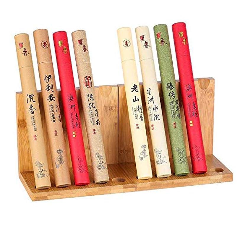 カリング寄付するパッケージお香スティック ナガンパラベンダー - サンダルの木 - パチョリ - 日本のバラ - ホワイトセージ、100%オーガニック手巻き - バラエティセット 各15gm 教会、アロマセラピー、リラクゼーション瞑想に最適 (6...