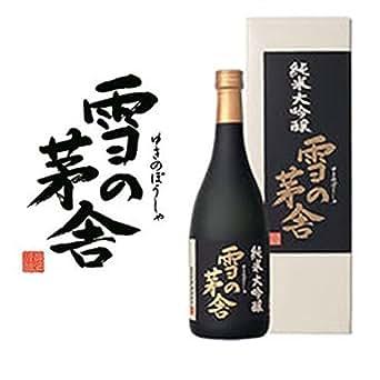 雪の茅舎 純米大吟醸 720ml (化粧箱入)