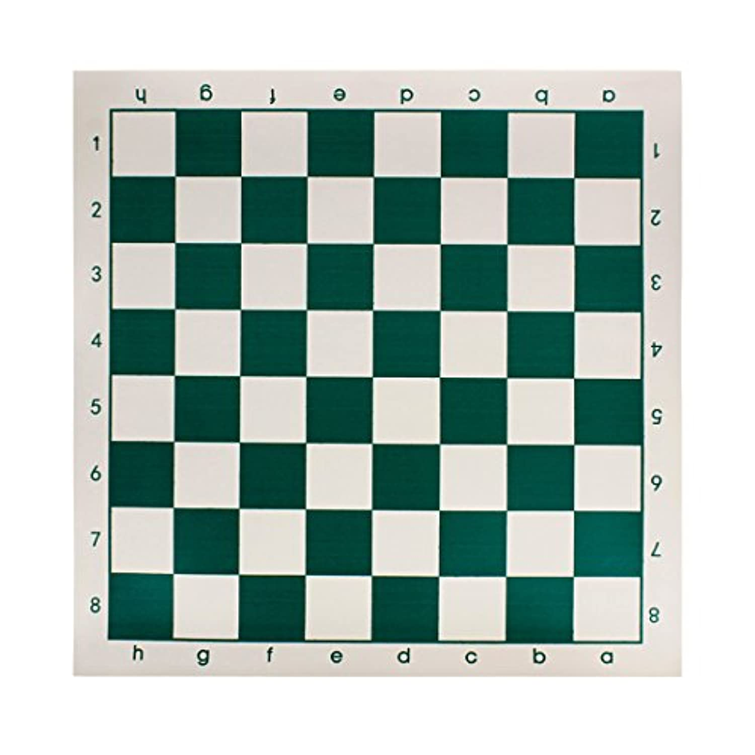 Andux Chess Board Tournament Chess Set-Standard Vinyl Roll-up Forest Green/XQQP-01
