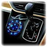 ノア 80系 ヴォクシー 80系 LED エアコンパネル 照明 イルミネーション 基盤打ち替えキット ブルー ルームランプ