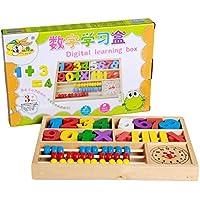 Linshop ファンシー幾何整合三次元ジグソーパズル- 3歳計算木のおもちゃブロック