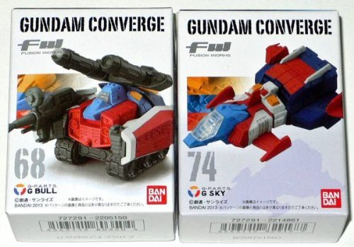 FW ガンダム コンバージ CONVERGE 11 12 Gブル・Gスカイ 2種セット Gアーマー