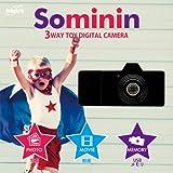 Swimming Fly Sominin ブラック USB型3wayトイデジタルカメラ SF-CAM-001